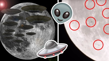 Любител астроном засне десетки НЛО около Луната