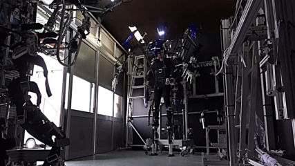 Transformers reloaded! Exoskeleton suit makes Japanese cyborg dream a reality
