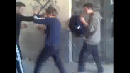 Sevito vs Mitko polimena i Marin boxiora