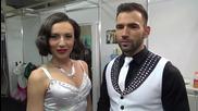Dancing Stars - Нели и Наско са готови за Куикстеп (13.05.2014г.)