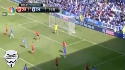 Гола на Fernando Torres срещу Cardiff City в последния мач на Челси за сезона.