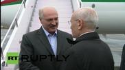 Russia: Belarusian President Lukashenko arrives in Ufa for BRICS summit