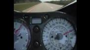 Дигане На 412 Km/h С Suzuki Hayabusa