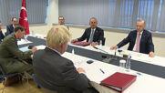 Belgium: Erdogan meets with Merkel, Stoltenberg, Johnson ahead of NATO summit