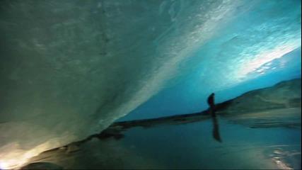 Синият ледник лагуна - Норвегия