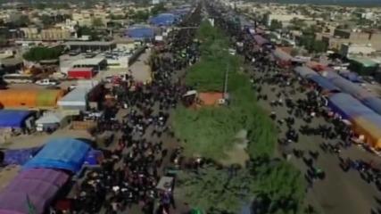 Iraq: Millions mark Arbaeen in Karbala