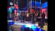 Финалистите от music idol 2007г. и тези от 2008г. изпълняват обща песен..мега шоу!!