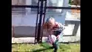 Момиче Играе Футбол