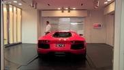 Добър начин да паркираш Lamborghini Aventador в апартамента си!