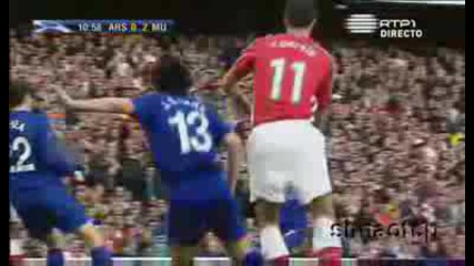 05.05 Гол На Кристиано Роналдо Арсенал - Манчестър Юнайтед 0:2