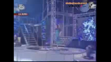 Деница - Music Idol - Първи голям концерт- Nutbush City Limits
