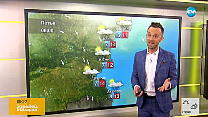 Прогноза за времето (19.04.2019 - сутрешна)