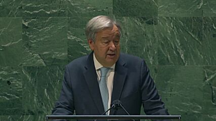 UN: 'Nuclear arsenal is not self-defense, it is suicide' - Guterres calls for global disarmament