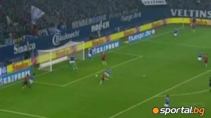 Шалке 04 - Хановер 5-4 (германия, Бундеслига (19-01-2013) И много карасиви голове