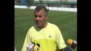 трениьора на загиналия румънски вратар