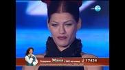 Жана Бергендорф X Factor (07.11.13)