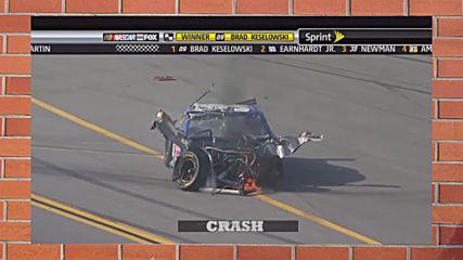 Брутални катастрофи от NASCAR