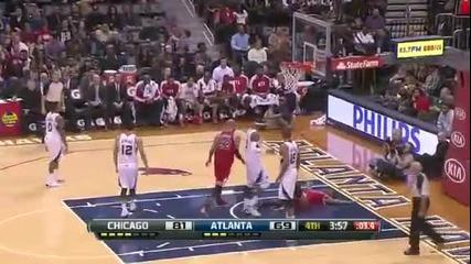 Атланта Хоукс 76:93 Чикаго Булс (02-02-2013 г.)