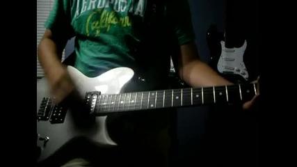 Skillet - Hero guitar cover