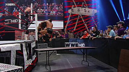 Randy Orton vs. Wade Barrett – Tables Match: WWE TLC 2011 (Full Match)