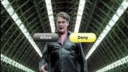 David Hasselhoff vs Fan - Allow