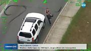 Майка с бебе кара със 160 км/ч, за да избяга на полицията