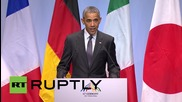 Germany: G7 ready to impose more sanctions on Russia says Obama