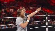 Mr. Mcmahon's grand plan for John Cena and Daniel Bryan at Summerslam: Raw, July 29, 2013