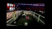 Santina vs Vickie Guerrero And Chavo Guerrero (hog Pen Match)
