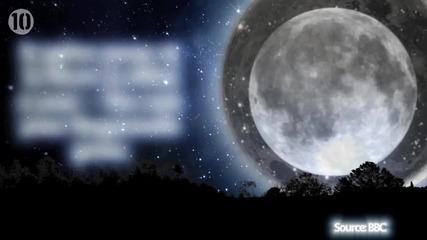 10 Невероятни факти за Луната!
