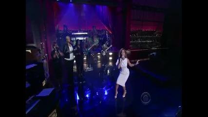 Beyonce - Halo (live at David Letterman Show)