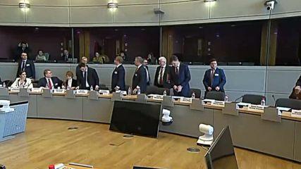 Belgium: EU-Russia-Ukraine talks on gas transit kick off in Brussels