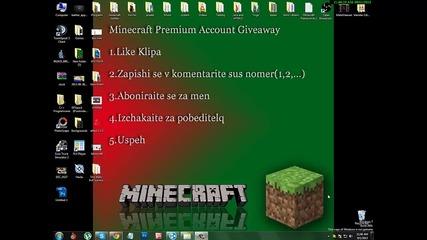 Minecraft Premium Acc Giveaway