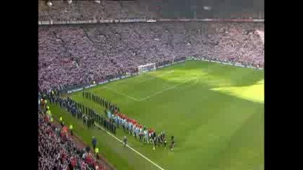 Man United - Man City (minute Silence)