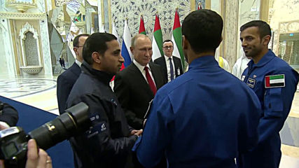 UAE: First Emirati astronaut Al Mansouri thanks Putin for Russia's support