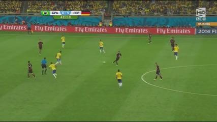 Световно първенство по футбол 2014 Бразилия - Германия - Първо полувреме Част 5/5