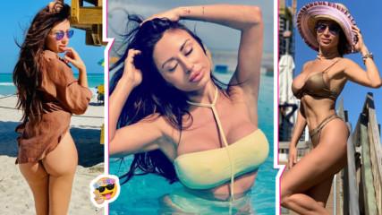 Мисис България Мариана Маринова показа изящни форми от плажовете на Флорида