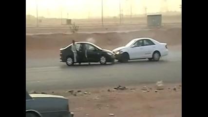 Дрифт катастрофи в Арабия