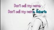 Lady Gaga - Alejandro (karaoke)