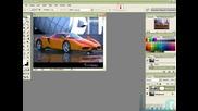Сменяване На Цвят На Кола По - Най Лесен Начин Adobe Photoshop *HD*