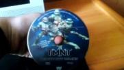 Българското DVD издание на TMNT: Костенурките нинджа (2007) от Съни Филмс и Вивател 2007