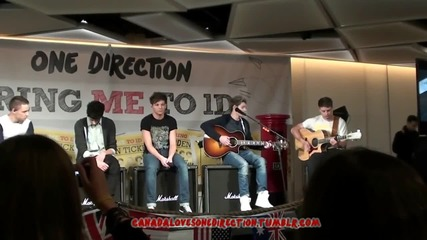 One Direction Little Things Acoustic