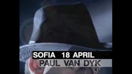 Paul Van Dyk в България