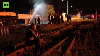 Четирима пожарникари загинаха в огнения ад на петролния склад в Киев