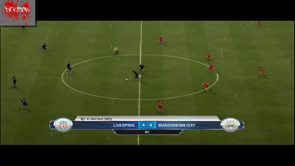 Fifa 12 Liverpool Fc vs Manchester City Gameplay