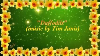 Пролетни цветя - нарциси! . . . (music by Tim Janis)