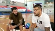 Калоян и Деян Иванови за завръщането си в България