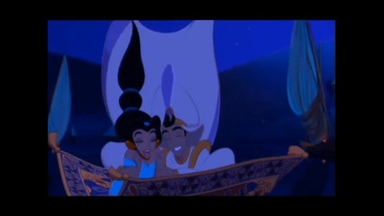 jessica simpson and nick lachey - a whole new world