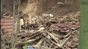 Едноетажна къща рухна в Русе (ВИДЕО+СНИМКИ)