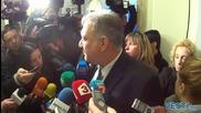 Георги Костов се срещна с премиера в Министерски съвет след протеста на полицаите